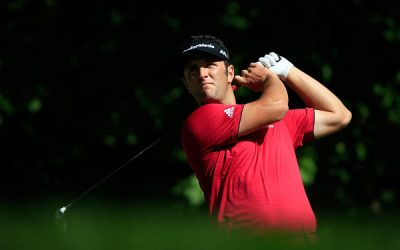Rahm maintains his competitive edge, even at odds with the wind