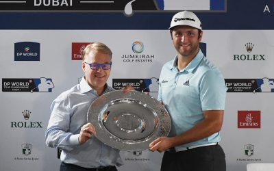A rookie (the best), in the grand finale of the European Tour