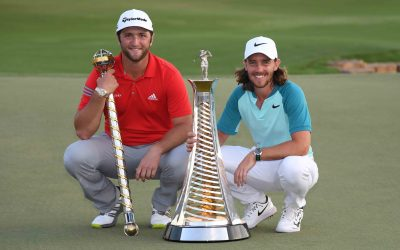 Rahm starts off strong on his quest to defend his title in Dubai