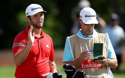 Rahm fought valiantly to defend his title in Dubai