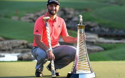 Rahm conquista un doblete histórico en Dubai