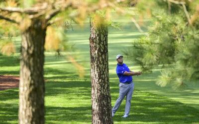 Jon Rahm locks in his third consecutive top ten in The Masters Tournament